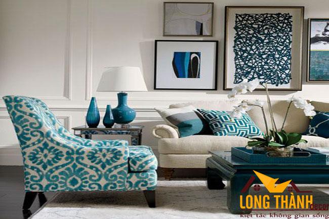 Thiết kế mẫu phòng khách tân cổ điển LT11