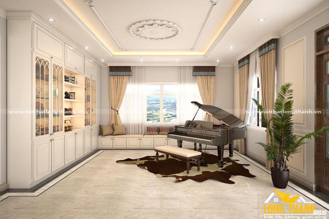 Mẫu phòng khách tân cổ điển LT13