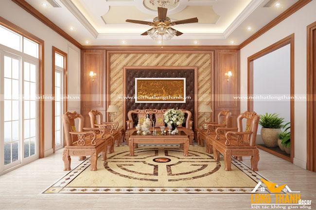 Phòng khách tân cổ điển LT18