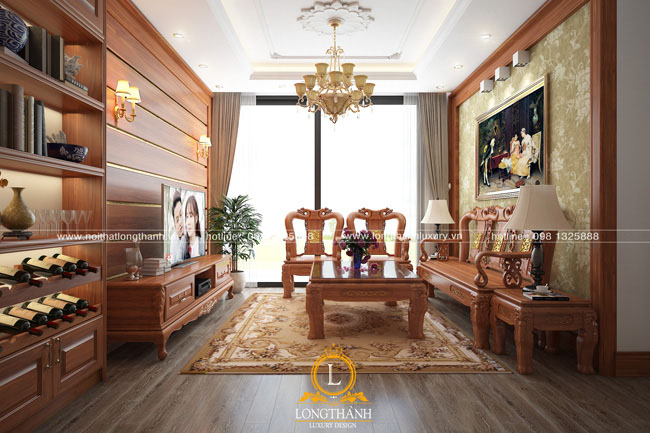 Phòng khách tân cổ điển LT24
