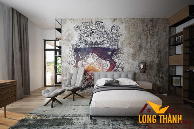 Thiết kế phòng ngủ cao cấp dành cho không gian rộng