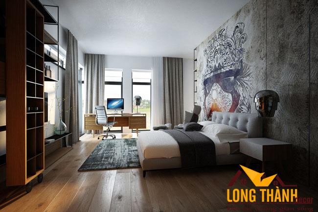 Phòng ngủ cao cấp dành cho không gian rộng