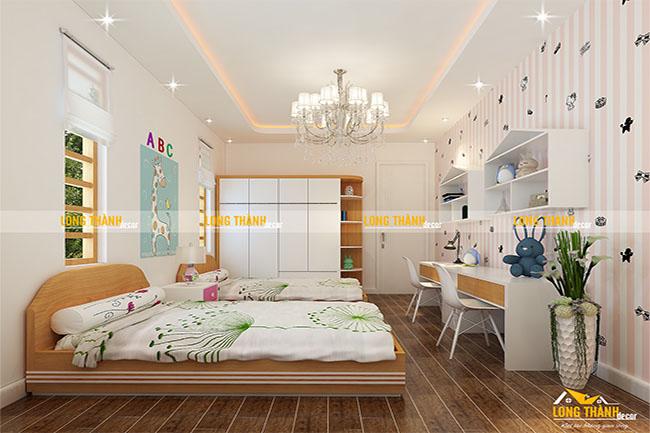 Phòng ngủ đôi dành cho con