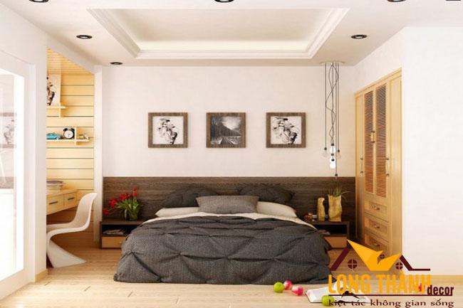 Phòng ngủ hiện đại dành cho các căn hộ chung cư