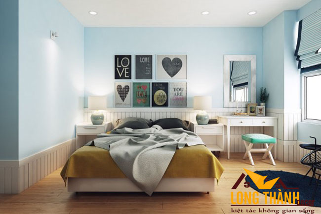 Phòng ngủ hiện đại dành cho các cô gái