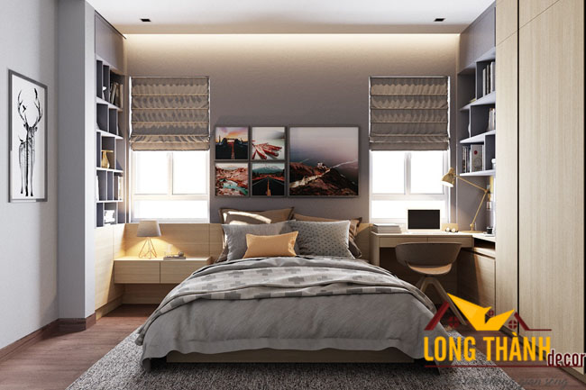 Phòng ngủ hiện đại dành cho chung cư