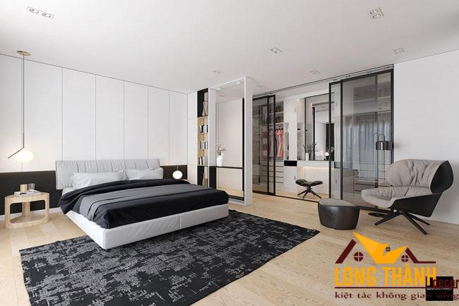Phòng ngủ hiện đại dành cho nhà biệt thự