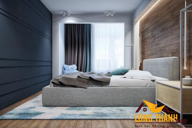 Phòng ngủ hiện đại dành cho nhà chung cư