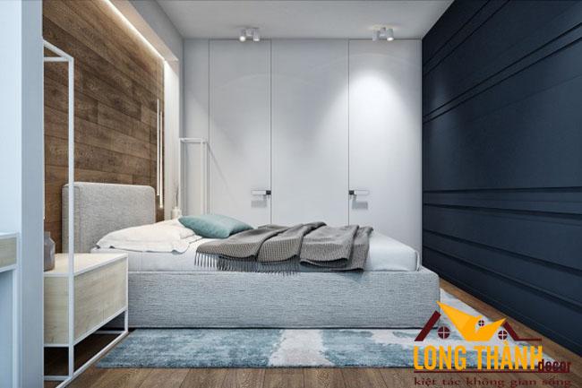 Thiết kế nội thất phòng ngủ hiện đại dành cho nhà chung cư năm 2017