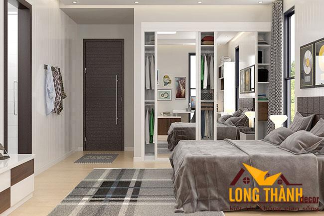 Phòng ngủ hiện đại dành cho nhà phố