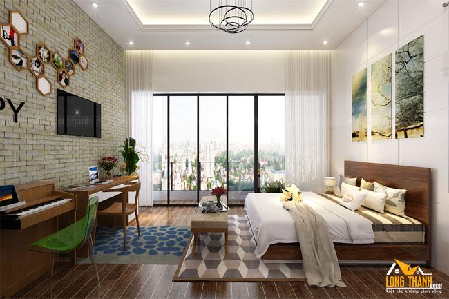 Phòng ngủ hiện đại – sự lựa chọn của nhiều gia đình trẻ