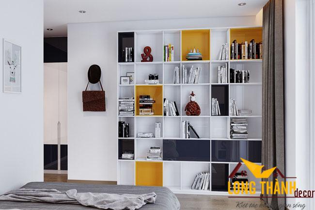 Mẫu phòng ngủ hiện đại với chất liệu gỗ công nghiệp sơn