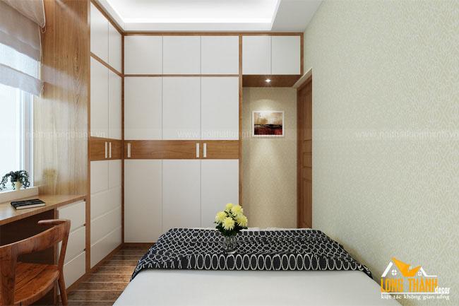 Phòng ngủ hiện đại với gỗ Veneer Sồi