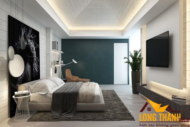 Phòng ngủ cao cấp siêu đẹp dành cho cô nàng độc thân