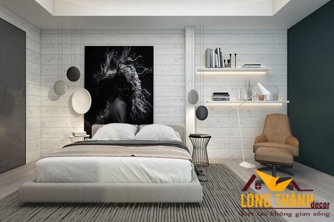 Phòng ngủ siêu đẹp dành cho cô nàng độc thân