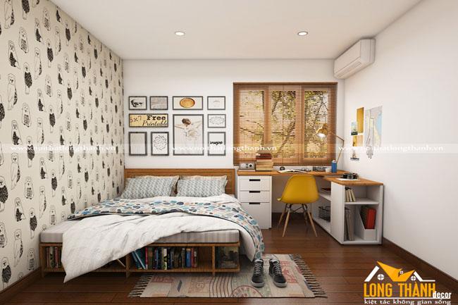 Phòng ngủ - sự quan tâm hàng đầu của mỗi gia chủ khi đến với Nội Thất Long Thành