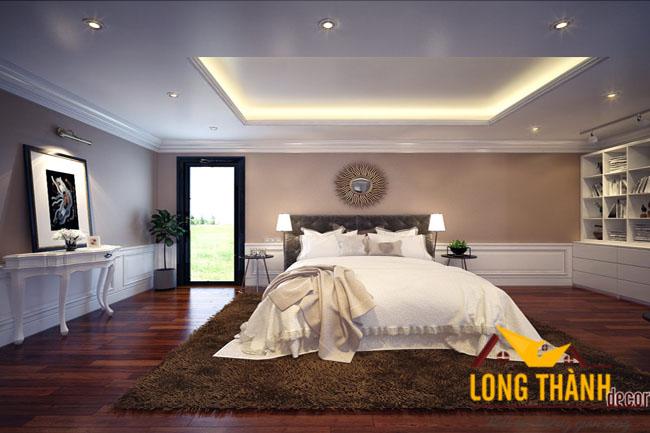 Thiết kế phòng ngủ tân cổ điển – sang trọng và cuốn hút