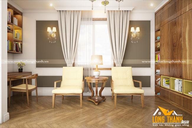 Phòng sinh hoạt chung cho nhà chung cư cao cấp