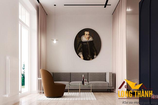 Phương án tối ưu hóa diện tích sử dụng với phòng khách hiện đại