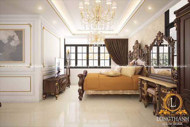 Quý tộc hoàng gia cùng thiết kế nội thất cổ điển