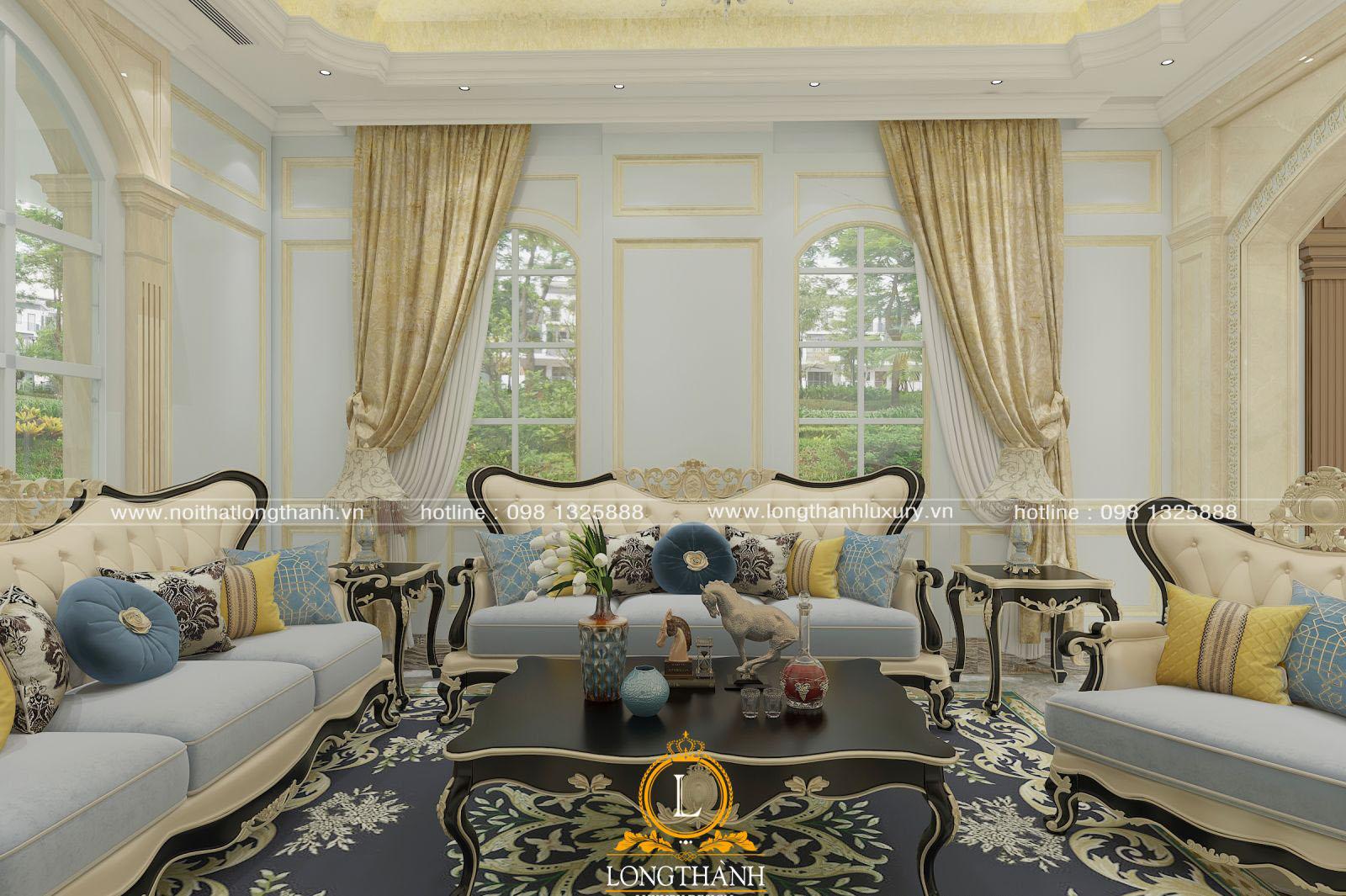 Lưu ý khi thiết kế sofa tân cổ điển