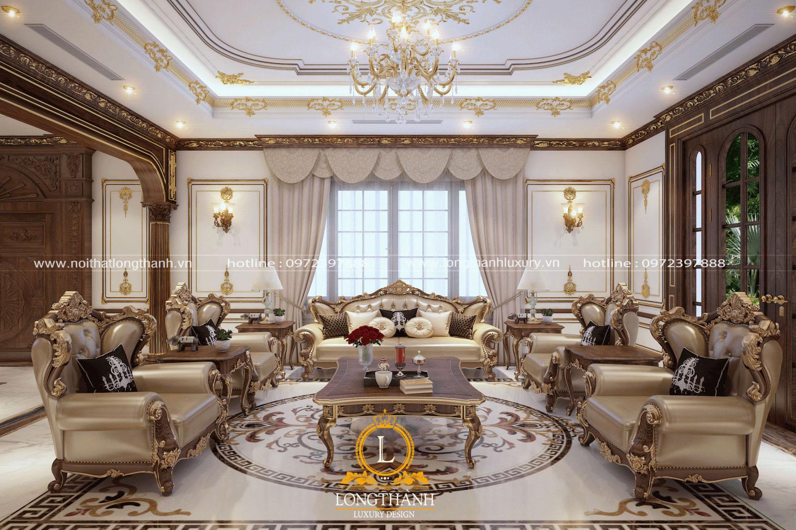 Sofa tân cổ điển đẹp tinh tế, quyến rũ từ mọi góc nhìn