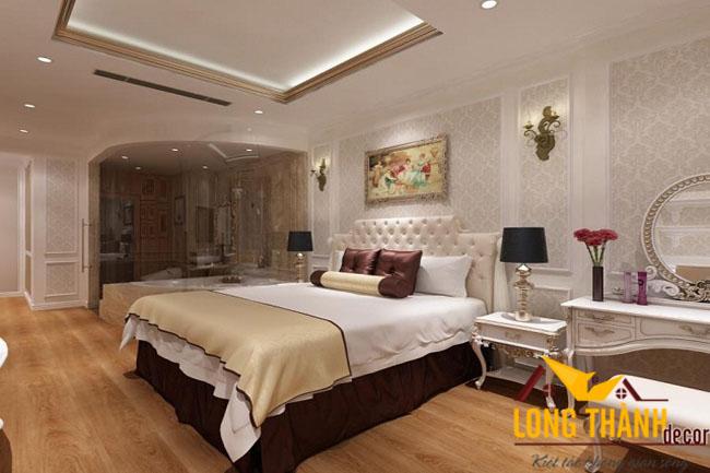 Sự đẳng cấp và khác biệt của phòng ngủ tân cổ điển