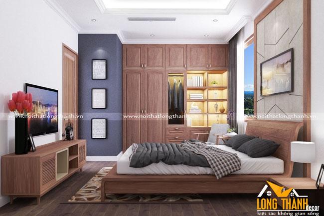 Tại sao phòng ngủ hiện đại gỗ tự nhiên luôn là lựa chọn hàng đầu cho nội thất phòng ngủ gia đình?