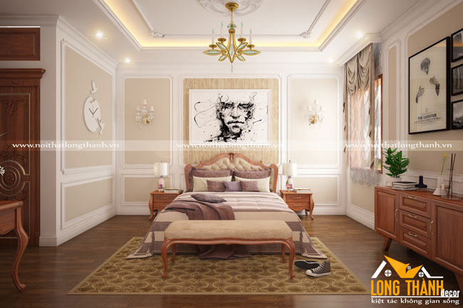 Tại sao phòng ngủ tân cổ điển gỗ Gõ được nhiều khách hàng lựa chọn