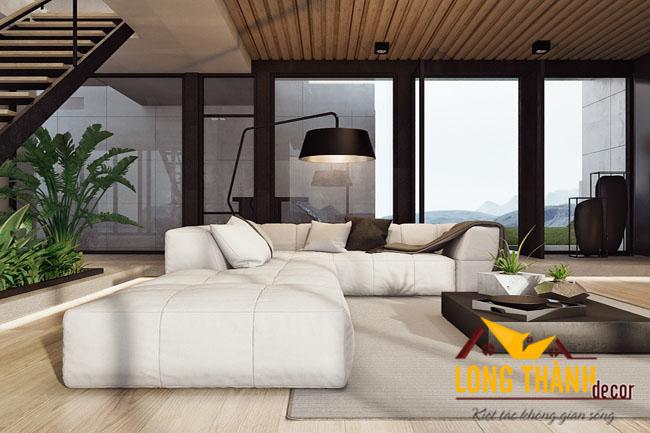 Thiết kế biệt thự nhà anh Trung – Thanh Hóa theo phong cách hiện đại