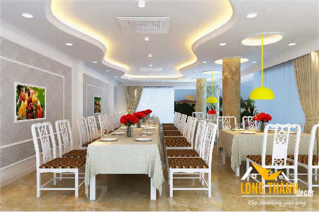 Thiết kế nhà hàng ăn uống tại Kim Đồng