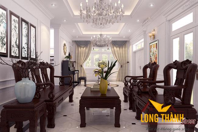 Thiết kế nội thất biệt thự nhà anh Hải Cẩm Phả Quảng Ninh