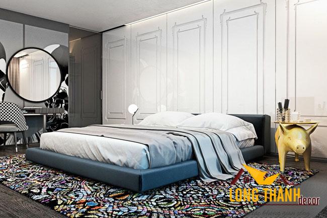 Thiết kế nội thất chung cư phong cách hiện đại nhà anh Liêm – Park City