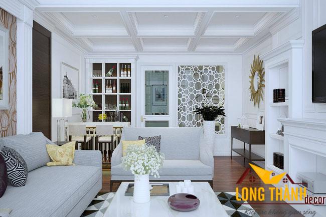 Thiết kế nội thất cao cấp căn Penhouse