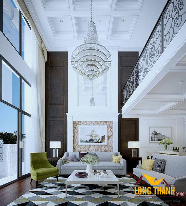Thiết kế nội thất chung cư cao cấp căn Penhouse