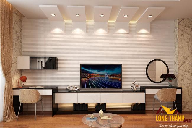 Thiết kế nội thất chung cư nhà chị Hà Mandarin Garden