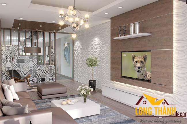 Thiết kế nội thất chung cư nhà Chị Hòa Park Hill
