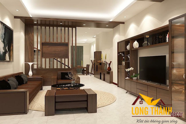 Thiết kế nội thất nhà chung cư theo phong cách hiện đại