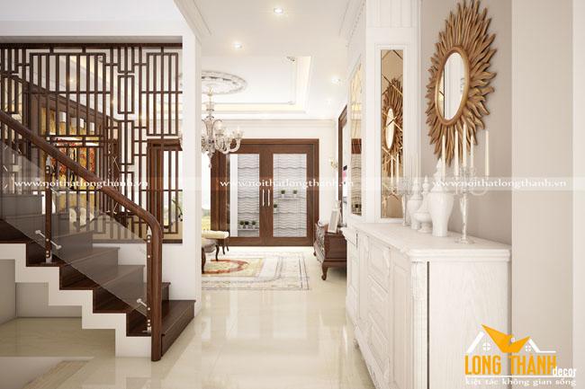 Thiết kế nội thất nhà phố với đồ tân cổ điển gỗ tự nhiên có phù hợp không?