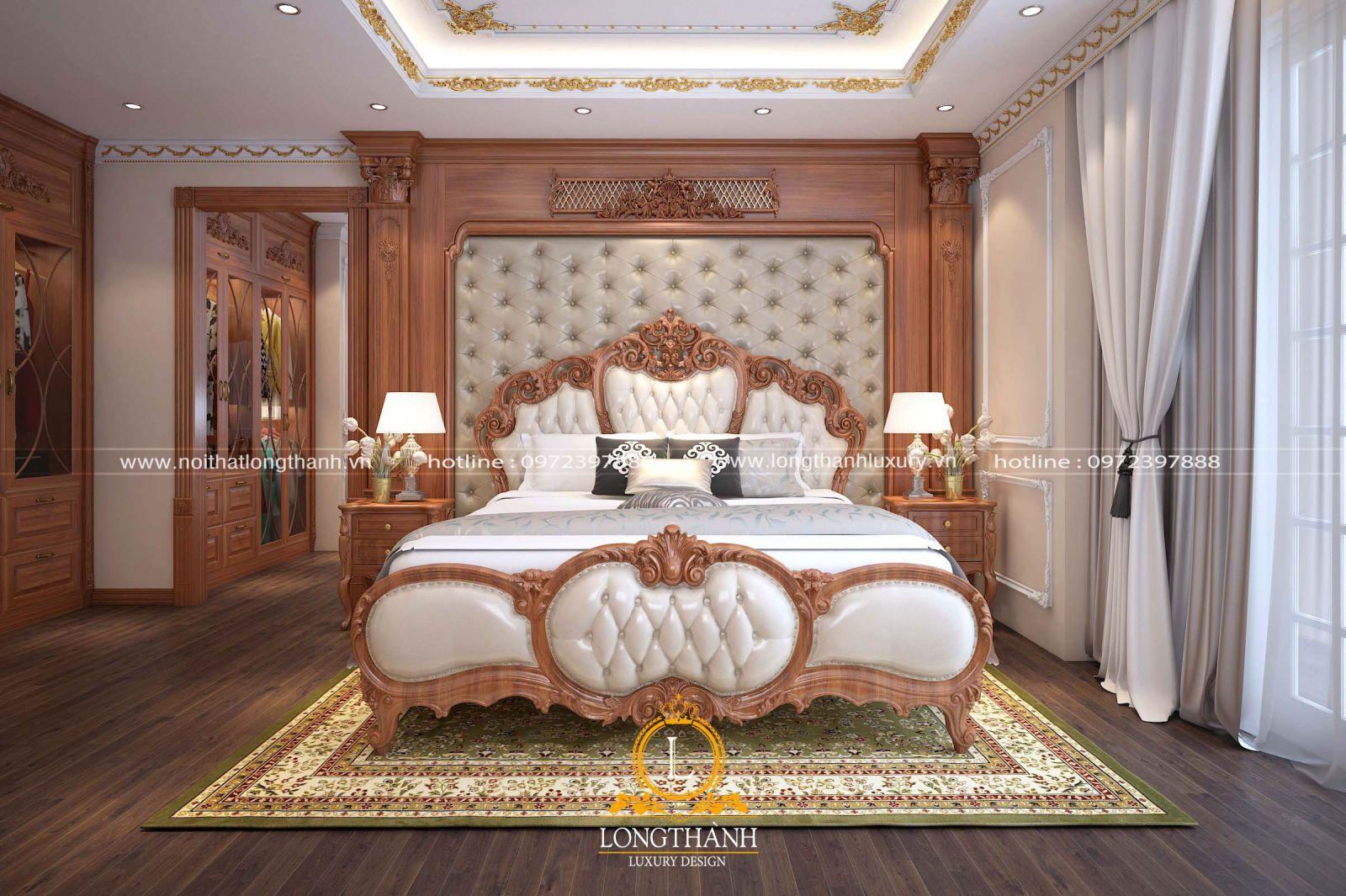 Vị trí đặt giường ngủ trong phòng ngủ master