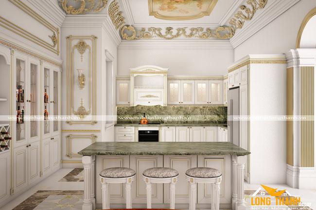 Thiết kế nội thất tân cổ điển – một thế mạnh của Nội Thất Long Thành