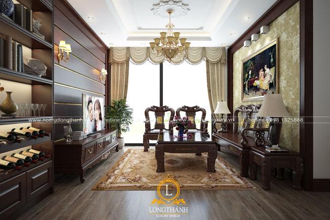 Thiết kế nội thất tân cổ điển – sự kế hợp hài hòa giữa phong cách truyền thống và hiện đại