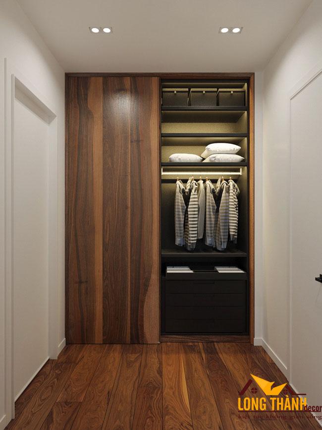 Thiết kế phòng ngủ hiện đại đẹp với diện tích hẹp
