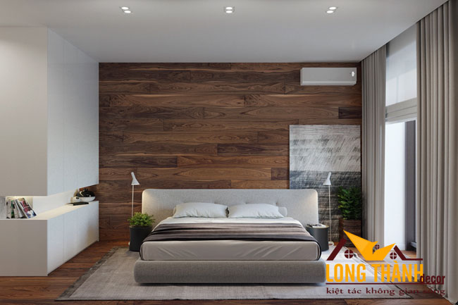 Thiết kế phòng ngủ đẹp với diện tích hẹp