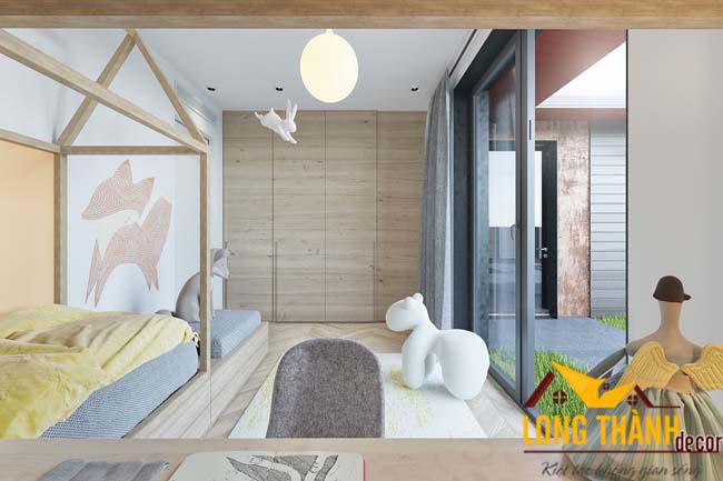 Thiết kế phòng ngủ hiện đại đẹp nhất cho trẻ em 2016