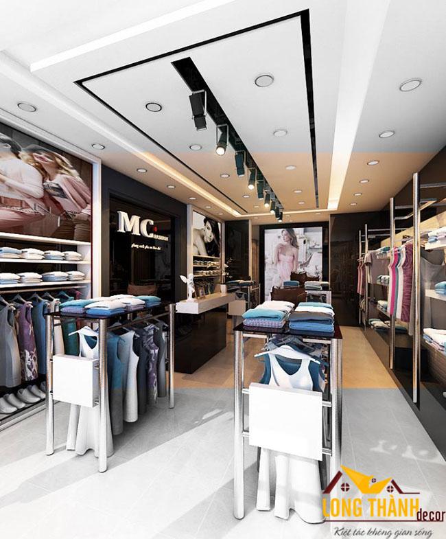 Thiết kế showroom thời trang tại Phố Huế