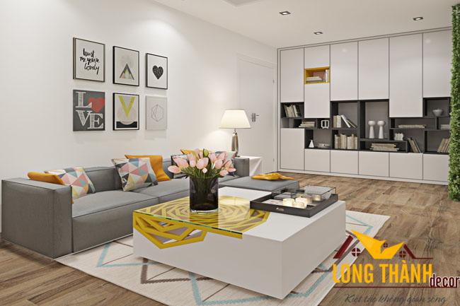 Thiết kế và thi công nội thất chung cư Royal City