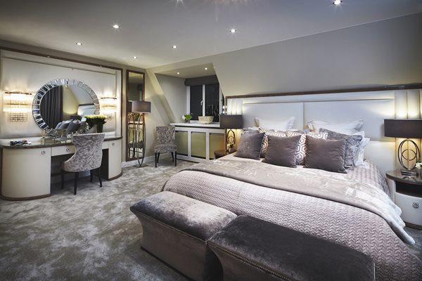 Trang trí phòng ngủ phong cách chất