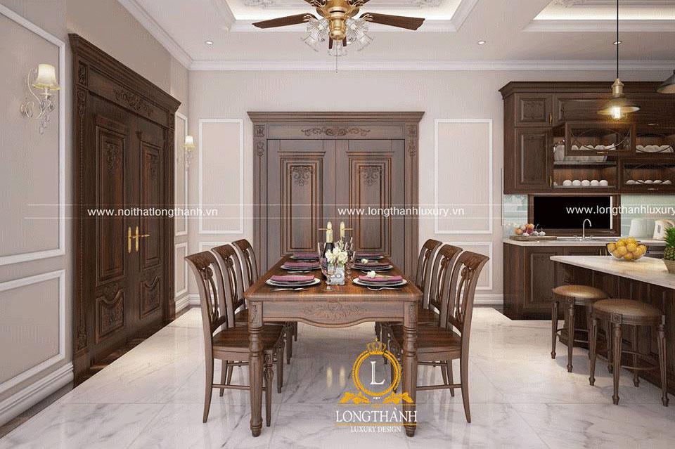 Mẫu bàn ghế ăn phòng bếp đẹp