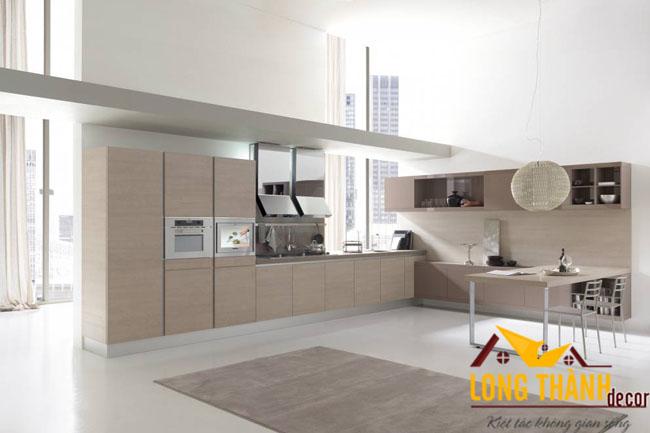 Tủ bếp gỗ Acrylic LT06